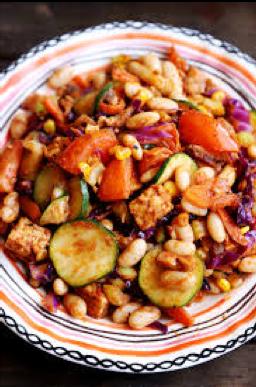Kidney Bean Stir-Fry