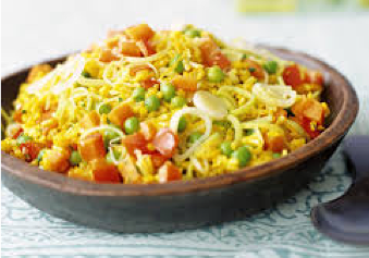 Moroccan Leek Rice