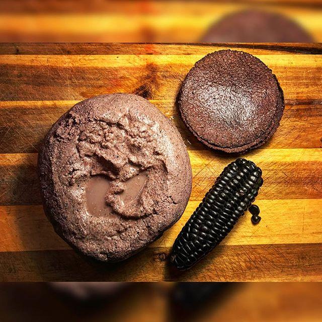 Purple Corn Tortillas. . . #purplecorn #elotemorado #purplecorntortillas #handmademasa #masa #colorfultortillas #homemadetortillas #comidatradicional #aztecfood #elote #mexicancorn #mexicanchef #comidamexicana #tortillasdemaiz #maizmorado #homemademasa #nixtamalization #freshtortillas #mexicancuisine #cocinamexicana #chicanopride #realmexicanfood #hispanicfood #nixtamal #chefslife #traditionalart  #girlchef #tortillashechasamano #maizmorado #Metate  i'll get to the replies soon, just feeling a little blue today. —kisses  @tacosdecielo