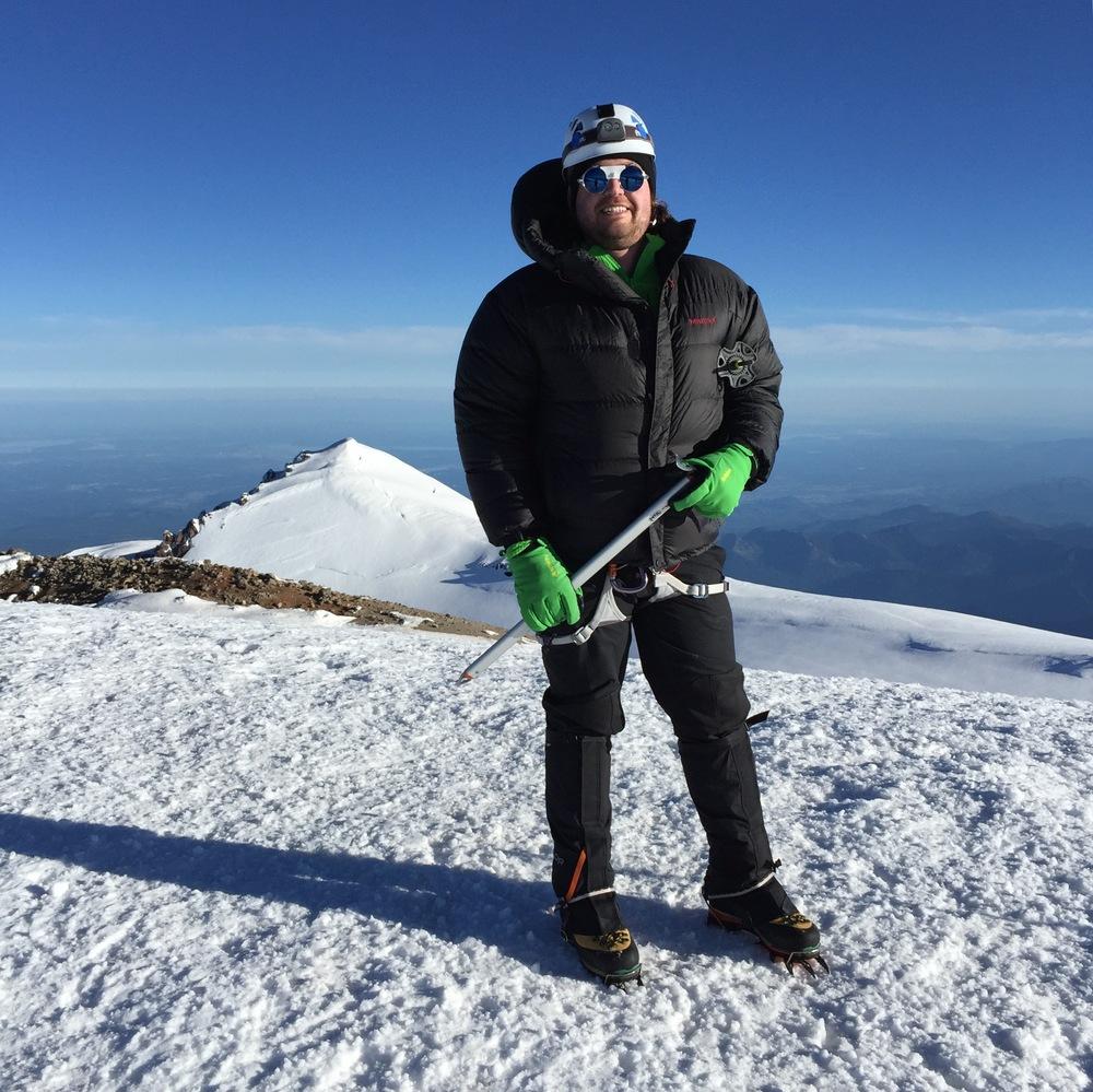 On the Summit of Rainier