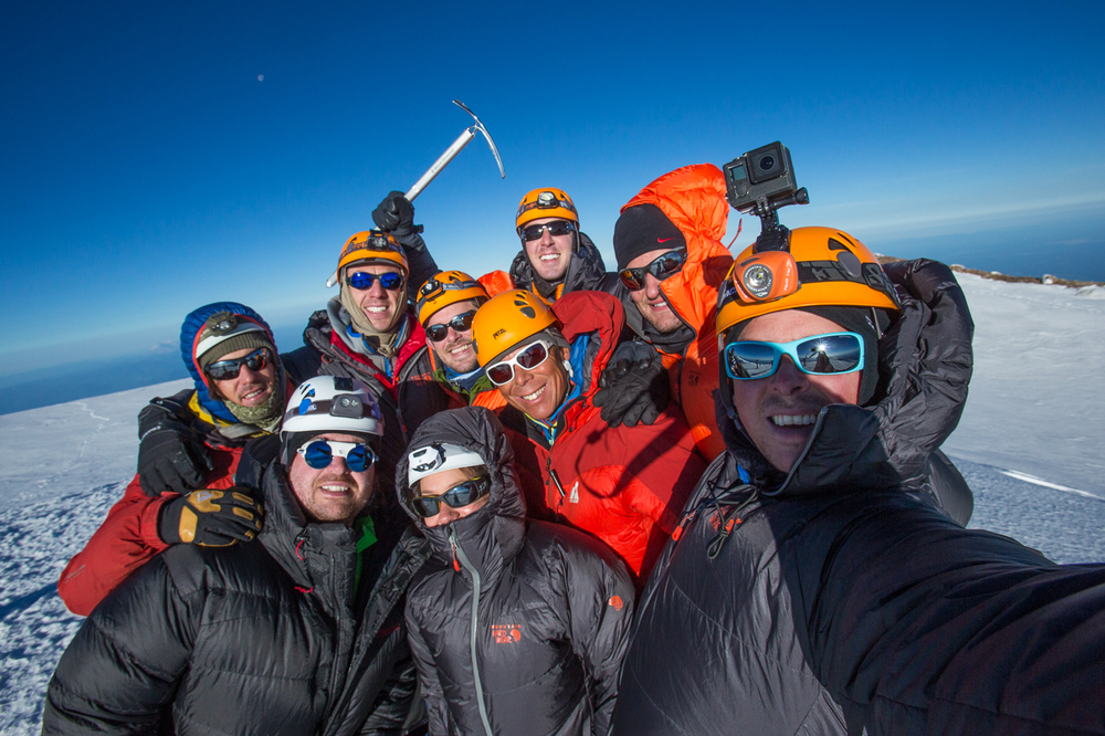 Our Crew on the Summit