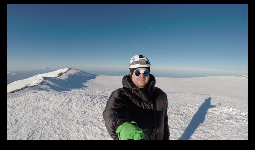 Selfie Shot on the Summit
