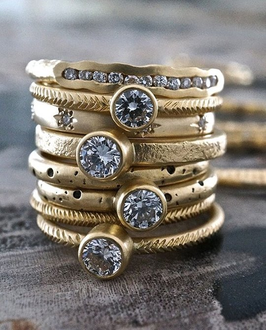 TOP RUSTIC GOLD RINGS // APARTMENT THERAPY.COM