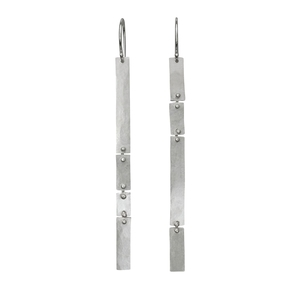 a8a9ad6a4 Slim Rustic Column Earrings / dangle version