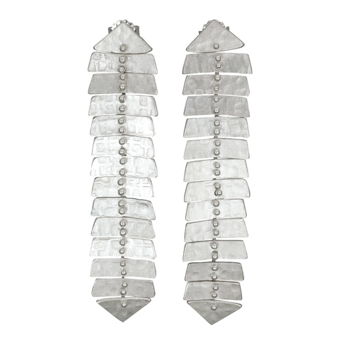 bafc93557 Slim Fisbone XL Stud Earrings — Sarah Swell Jewelry