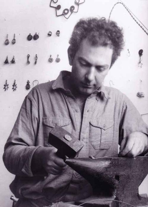 Calder in his Paris studio in 1930