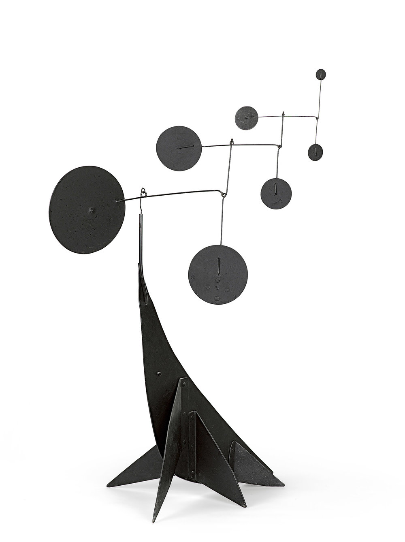 Performing Seal 1950 by Alexander Calder. Images via NGV