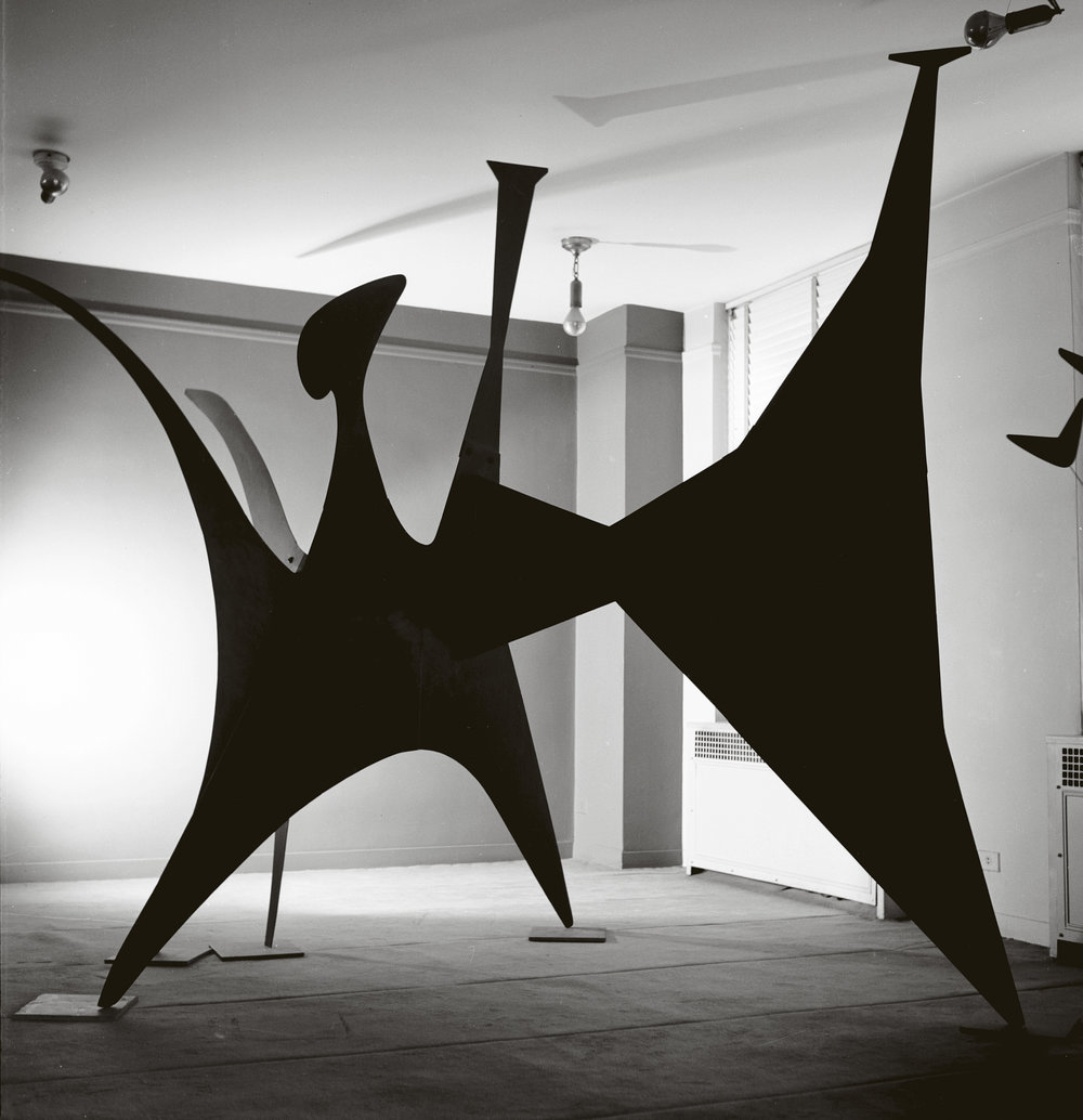 Black Beast 1940 by Alexander Calder. Images via NGV