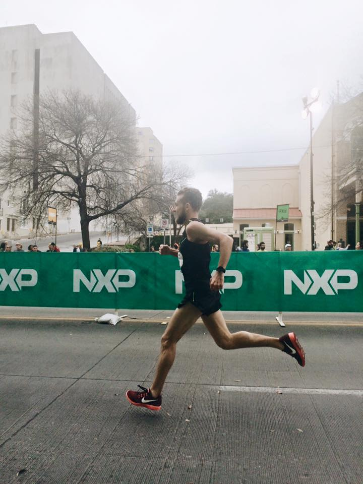 Ryan qualified for Boston 2017 when he ran his first full marathon this February in Austin, TX. He qualified with a time of 3:00, which is roughly 6:50 minute miles