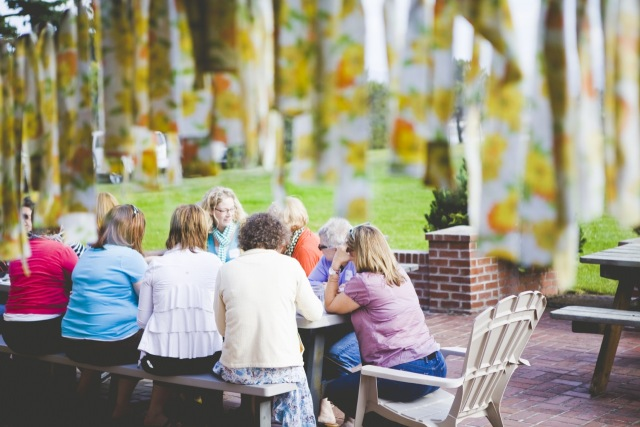 Be Present Retreats porch gathering