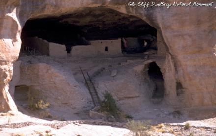 Gila Cliff Dwellings     —    155 Miles from Las Cruces