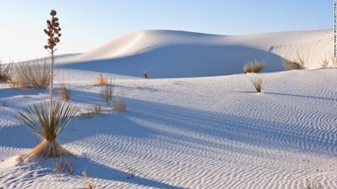 White Sands Monument     —    52 Miles form Las Cruces