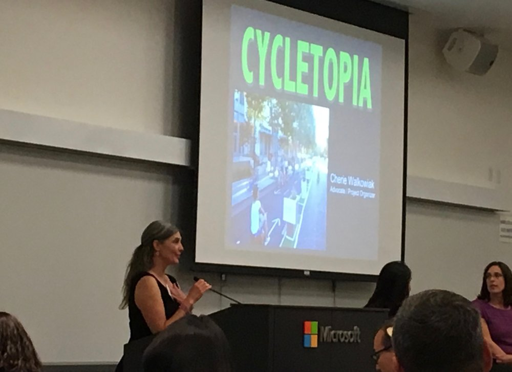 Cherie Walkowiak presents Cycletopia