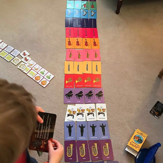 @stringfever_uk - It is lovely to see our Orchestra SNAP! cards being used by the next generation of musicians 😍