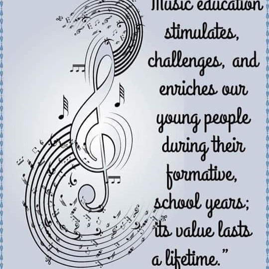 Music is a necessary part of life. #musiceducation