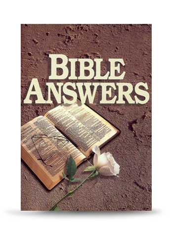 Bible Answers (Single Book) - For every book order received, UPMI sends a life changing book to prisoners and ex-prisoners for free!