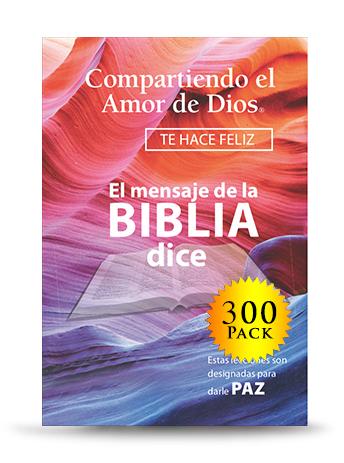 Compartiendo el Amor de Dios (300 Book Envelope Set) - For every donation of $250, UPMI will send you and a prisoner or ex-offender of Compartiendo el Amor de Dios (300 Book Envelope Set).