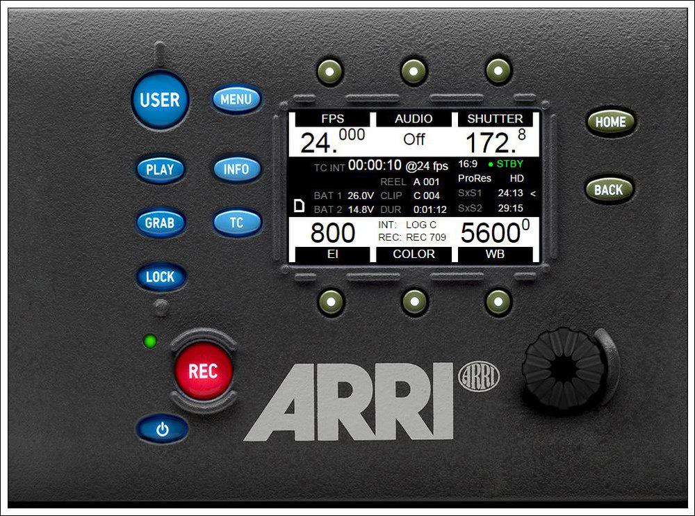 The ARRI ALEXA Camera Simulator, SUP 9.1