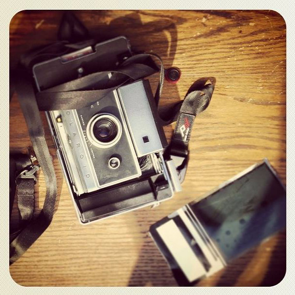 I Even Rock a Peak Design Leash on my Vintage Polaroid Camera, Seen Here Basking in The Warm Sunlight of Los Angeles