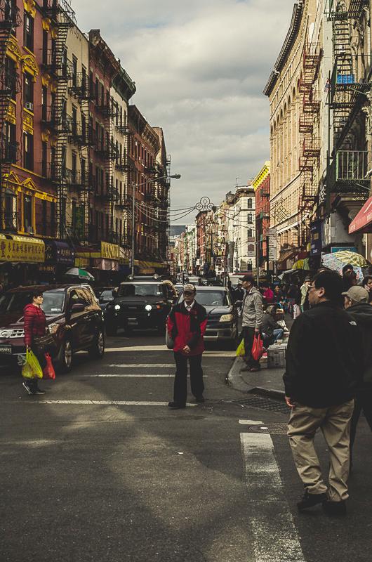 China Town Street Corner by Jason Joseph