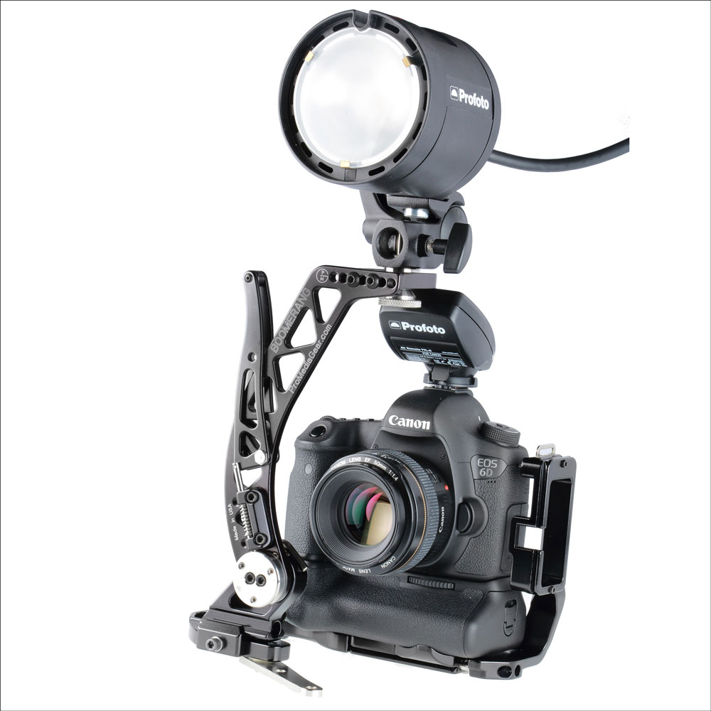 Pro Media GearBoomerang BBGV2 Flash Bracket
