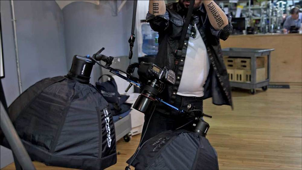 Watch the video and see just how comfortable the rig is when worn....