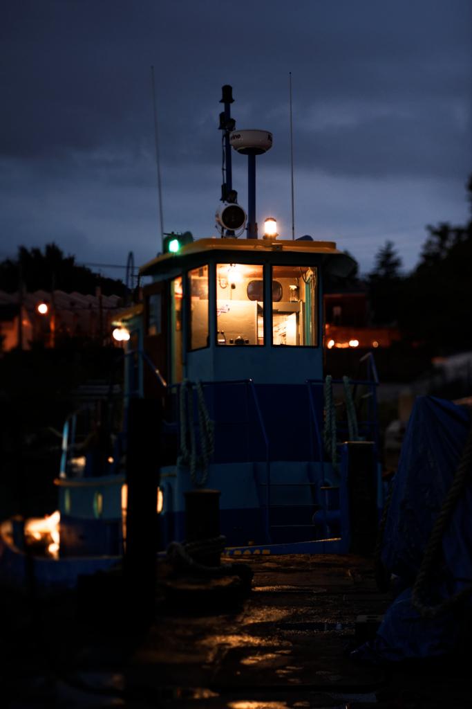 Meeting at the Boat at 4 am