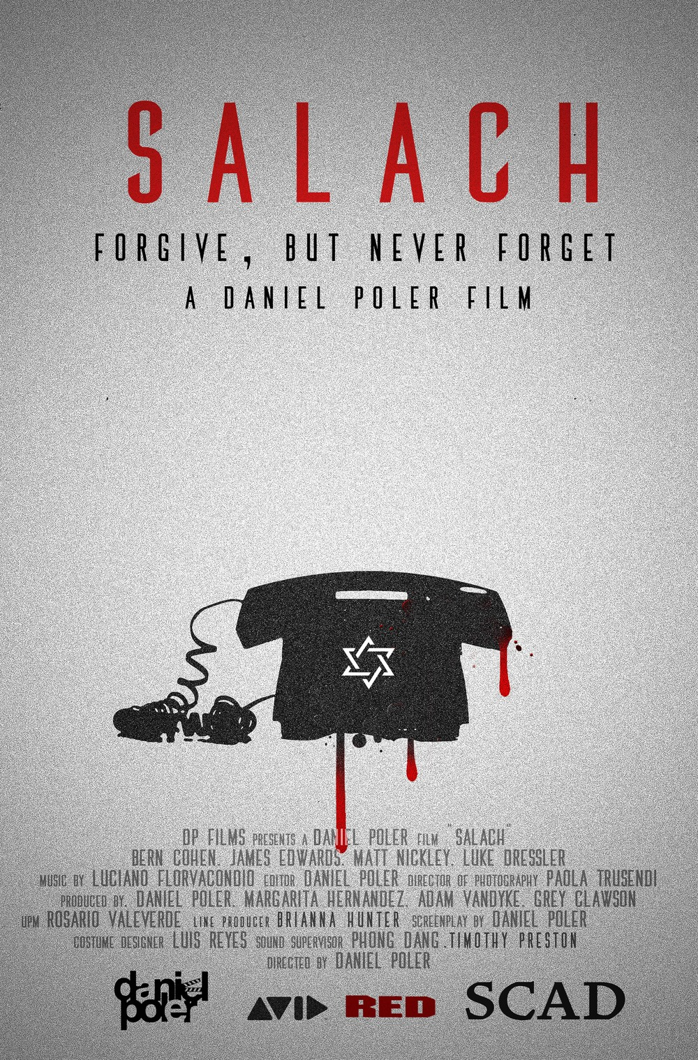 Salach poster design by Daniel Poler.