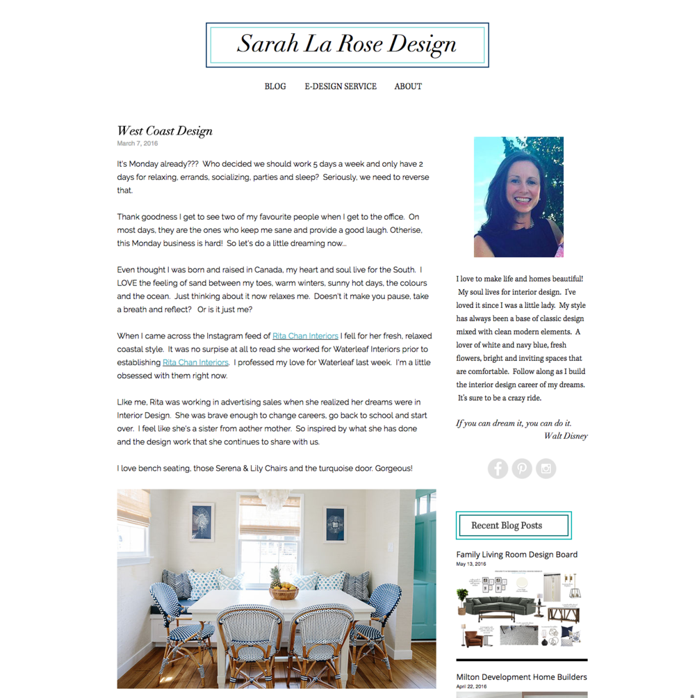 Sarah La Rose Design