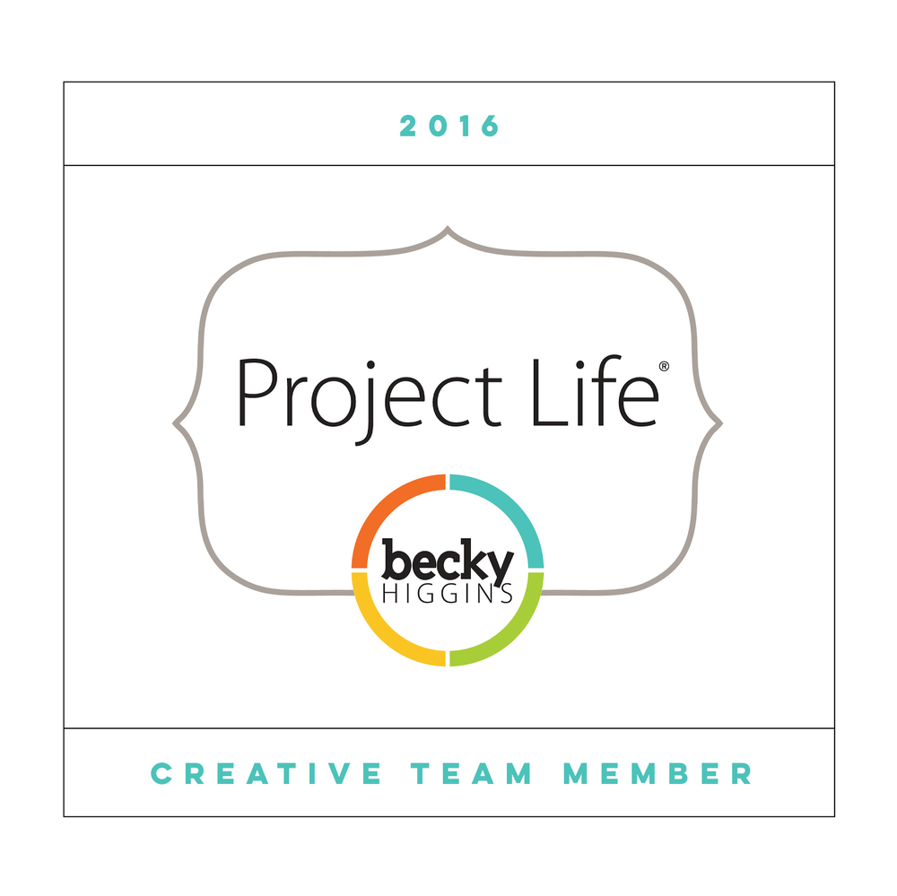 2016 creative team member for Becky Higgins Project Life team