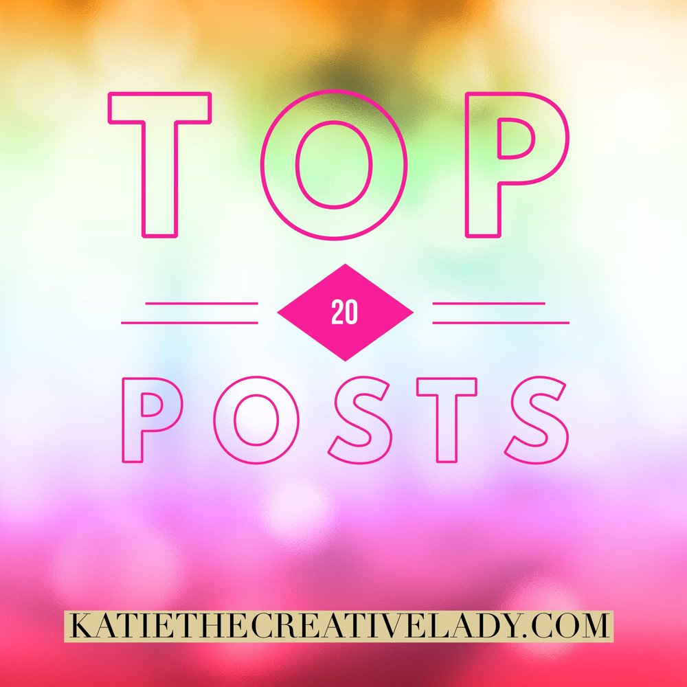 My Top 20 Posts