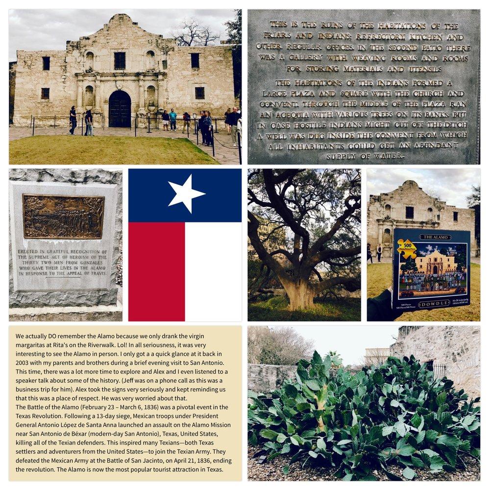 Alamo Mission in San Antonio, Texas 2017