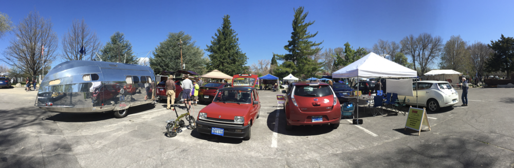 There was a great EV showing at the 2017 Earth Day