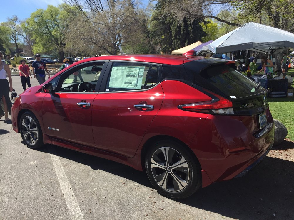 Thanks again to Nissan of Reno for their support, and for bringing the all new and exciting 2018 Nissan LEAF!