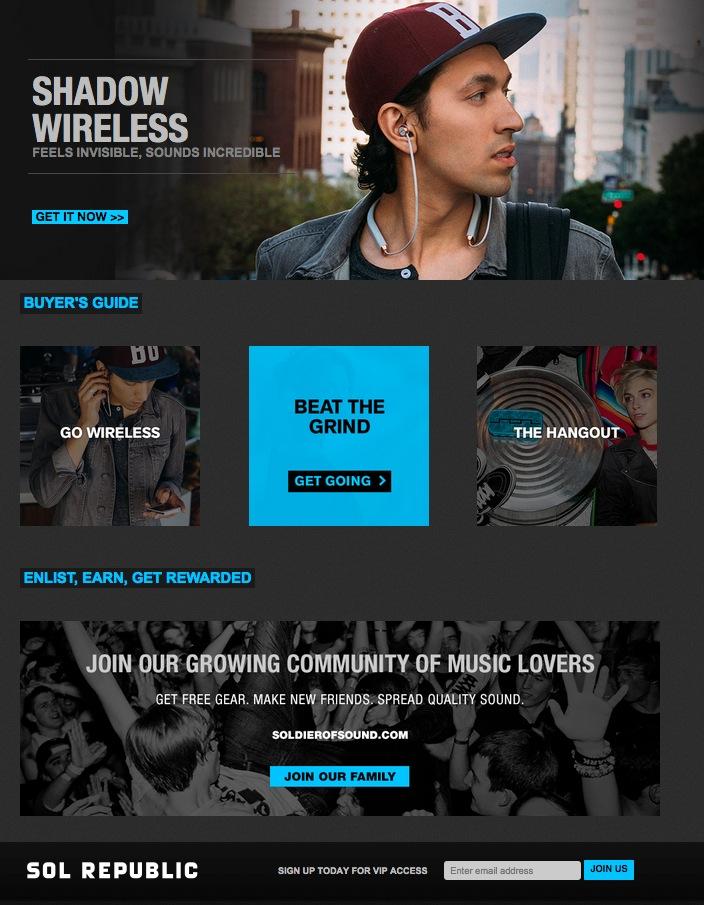 SR Homepage