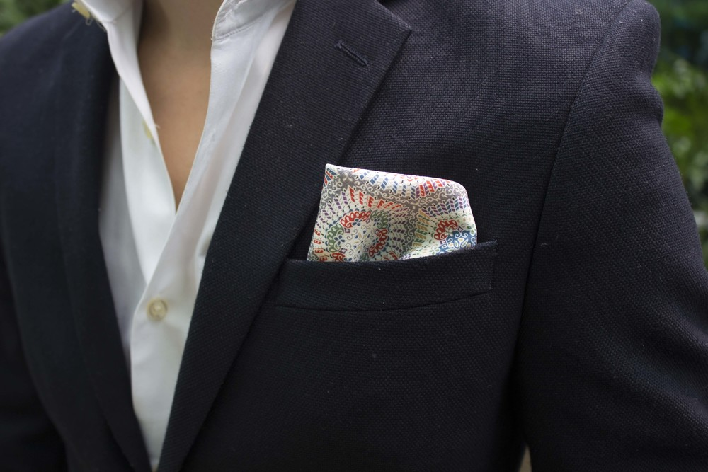 Pocket Square: Vanda Fine Clothing