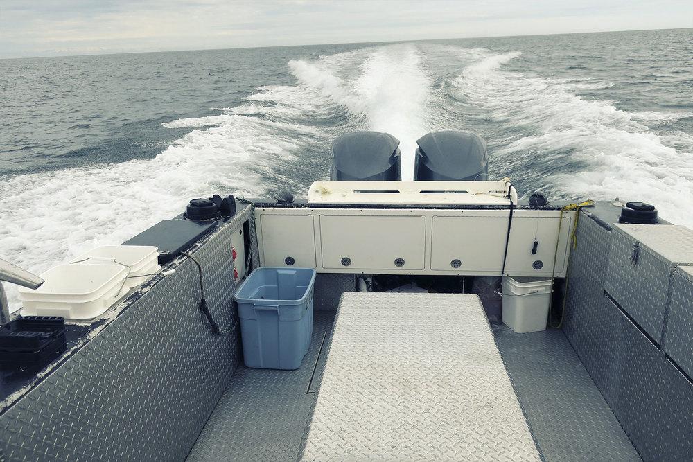 A commercial tuna vessel in it's former life, Kraken is now an Alaskan mainstay.
