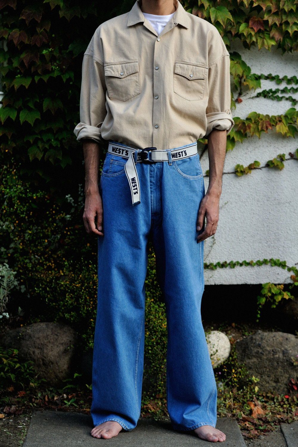 IMAGE_DENIM SHIRTS_803W_RUBBER BELT_1.jpg
