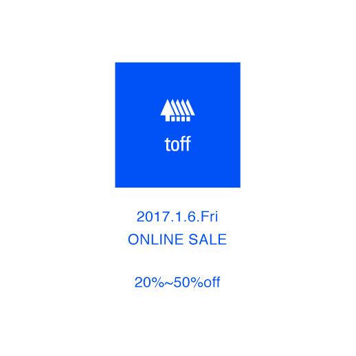 online sale toff