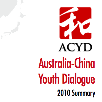 ACYD 2010 Summary