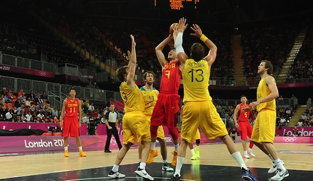 Australia-China Basketball