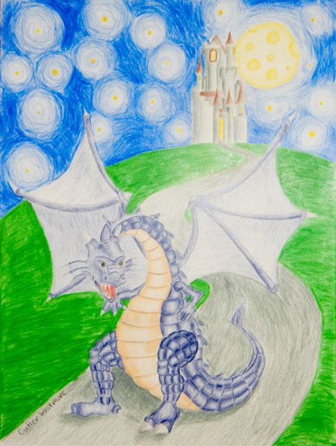 CutlerWhitmore,13yrs.Dragon.coloredpencils.6/15