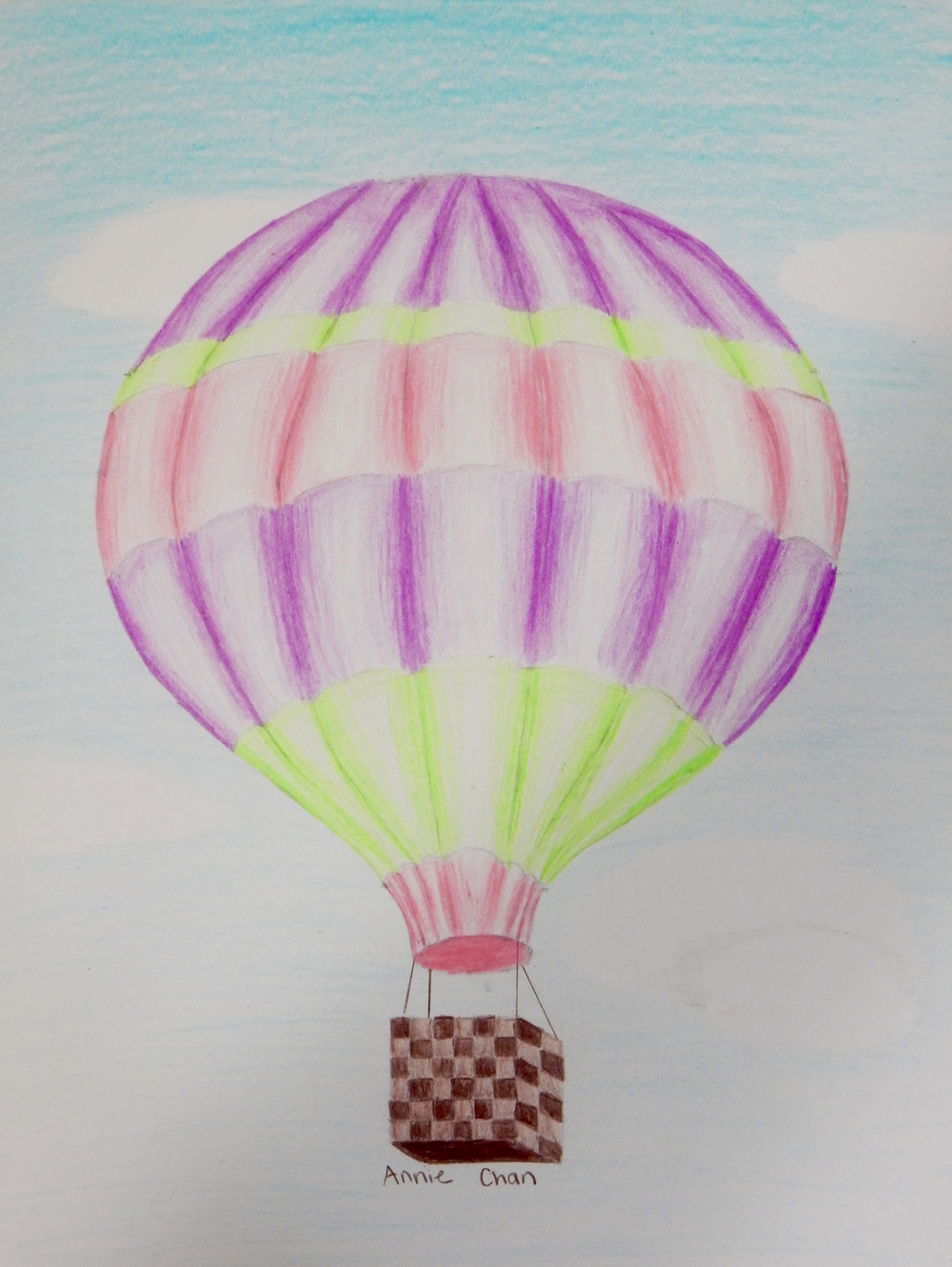 AnnieChan.10yrs.HotAirBalloon.coloredpencils