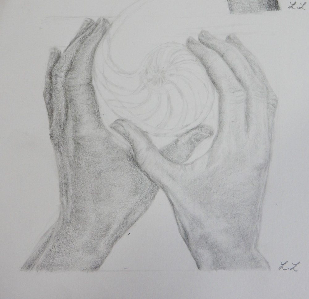 Lydia Lee. 17yrs.pencil