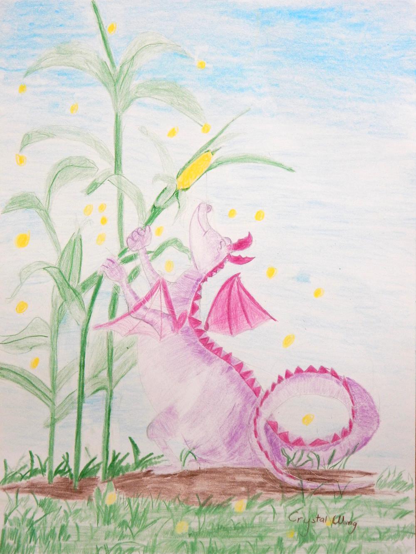Crystal Wang.colored pencil. Eraflon