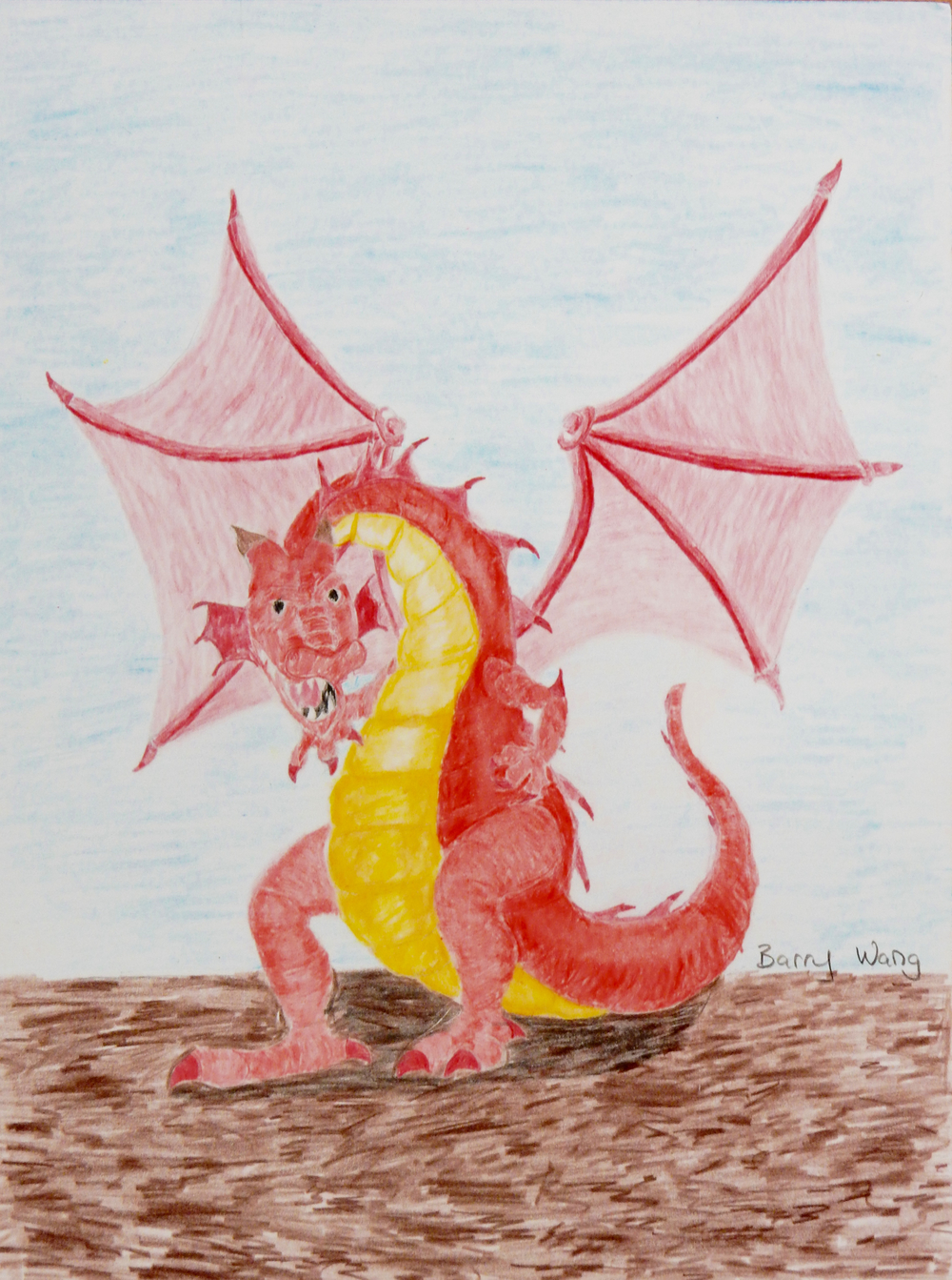 Barry Wang.11yrs.colored pencil