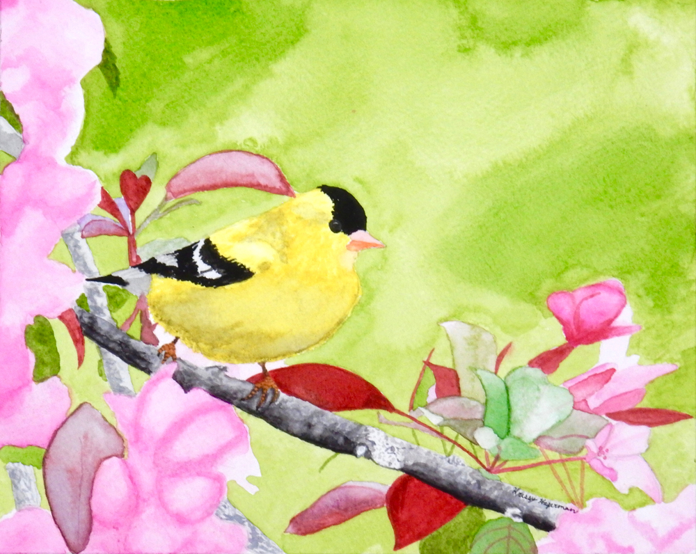Kristina Hagerman.13yrs.watercolor.Spring