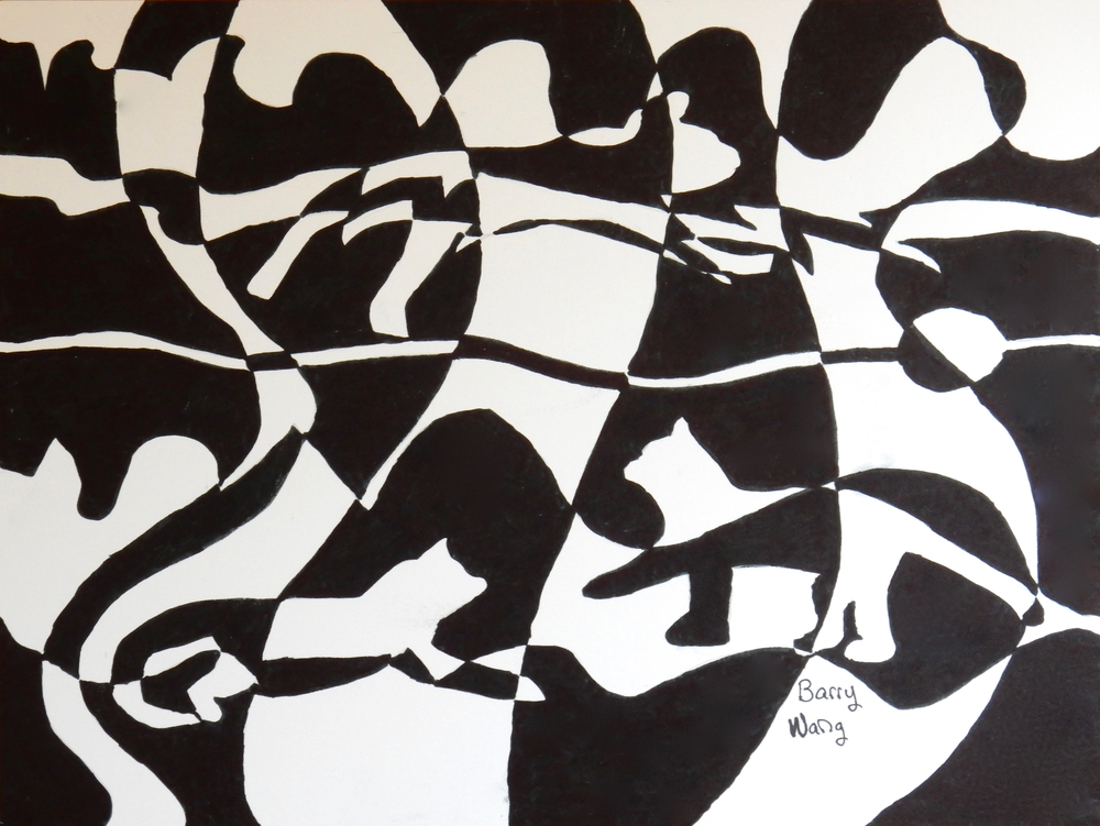 Barry Wang.11 yrs. black marker