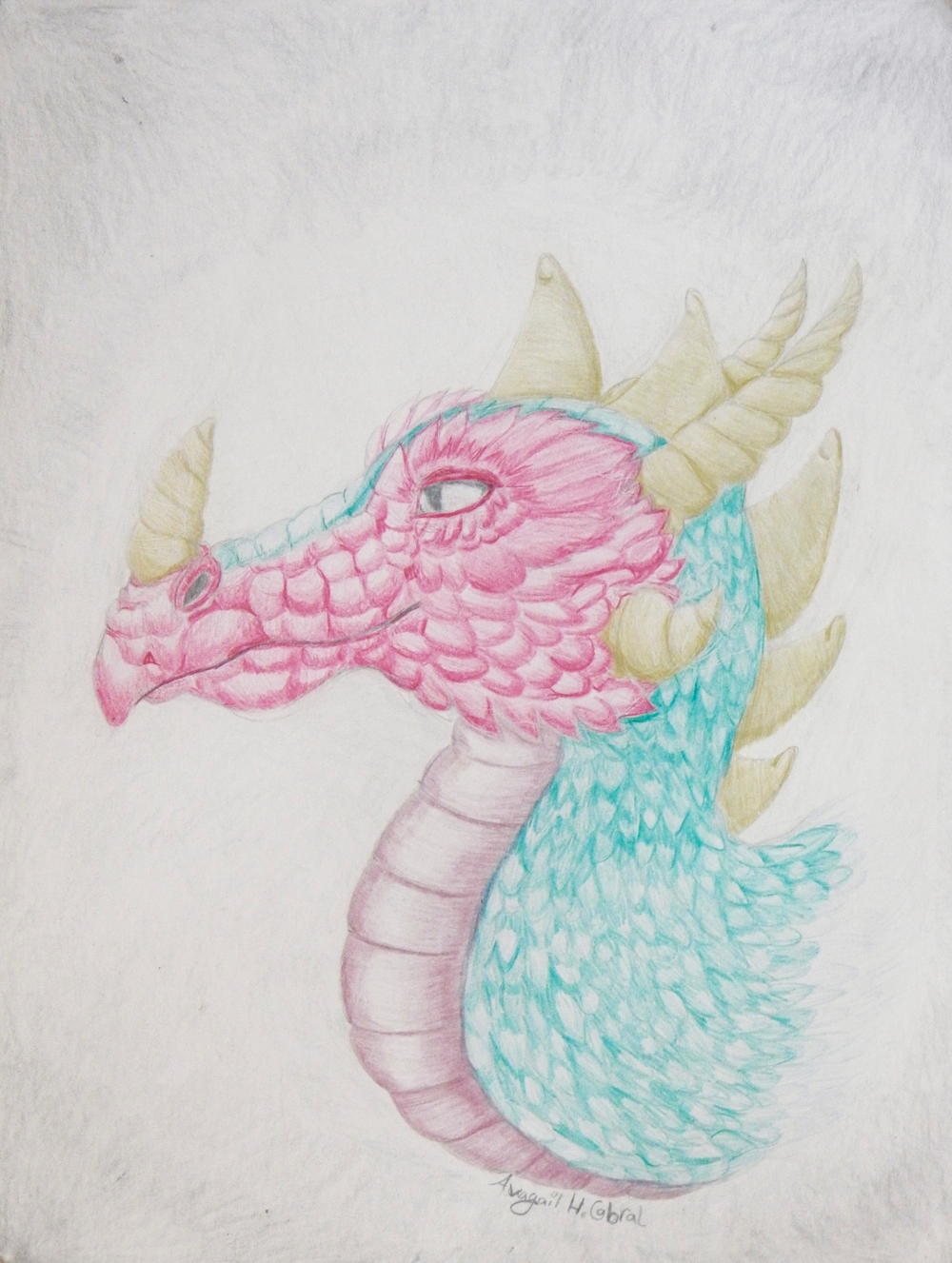 Avagail Cabral.10yrs.colored pencil