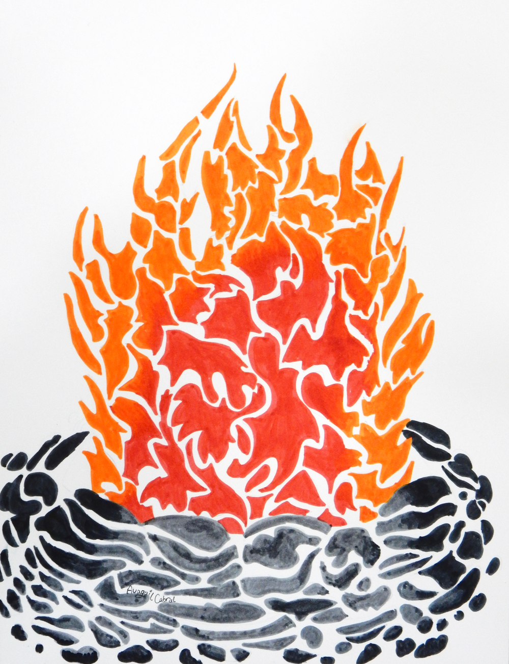 Avagail Cabral.marker.Fire